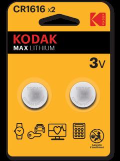 Литиеви батерии CR1616 Kodak KCR1616 - 3V