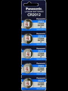 Литиеви батерии CR2012 Panasonic CR2012 - 3V