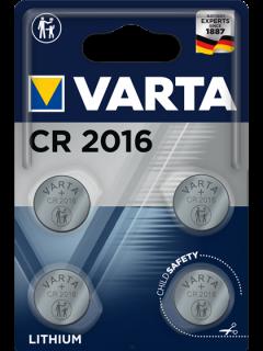 Литиеви батерии CR2016 Varta CR2016 - 3V - 4 броя