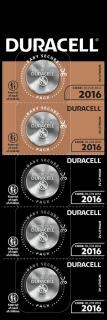 Литиеви батерии CR2016 3V Duracell DL2016 - 3V 5 броя