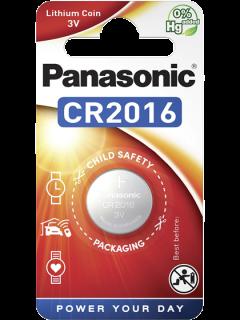 Литиева батерия CR2016 Panasonic CR2016 - 3V