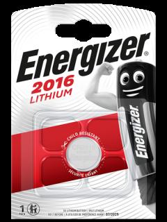 Литиева батерия CR2016 Energizer ECR2016 - 3V