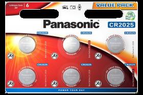 Литиеви батерии CR2025 Panasonic CR2025 - 3V