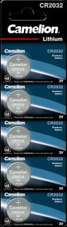 Литиеви батерии CR2032 Camelion CR2032 - 3V