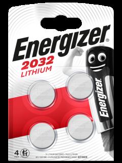 Литиеви батерии CR2032 Energizer ECR2032 - 3V - 4B