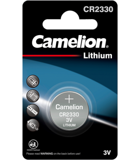 Литиева батерия CR2330 Camelion CR2330 - 3V
