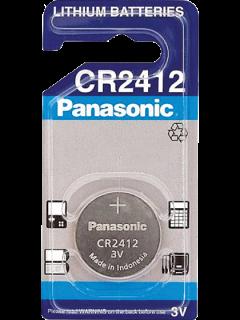 Литиева батерия CR2412 Panasonic CR2412 - 3V