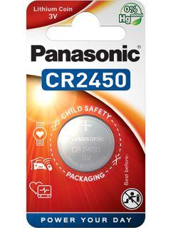 Литиева батерия CR2450 Panasonic CR2450 - 3V