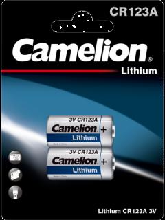 Литиеви батерии CR123 Camelion CR123A - 3V