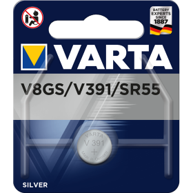 Батерия за часовник 391 Varta V8GS V391 SR55 - 1.55V