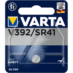 Батерия за часовник V392 Varta 392 SR41 - 1.55V
