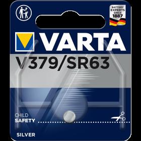 Батерия за часовник V379 Varta 379 SR63 SR521SW - 1.55V