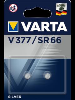 Батерии за часовник V377 Varta 377 SR66 SR626SW - 1.55V