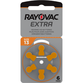 Батерии за слухов апарат 13 - Rayovac Extra Advanced
