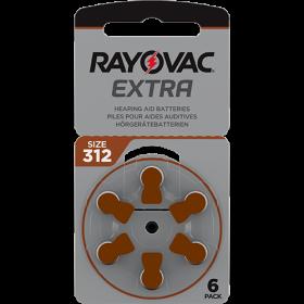Батерии за слухов апарат 312 - Rayovac Extra Advanced