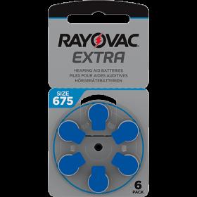 Батерии за слухов апарат 675 - Rayovac Extra Advanced