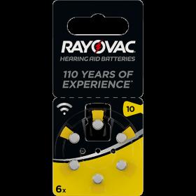 Батерии за слухов апарат 10 - Rayovac Acoustic