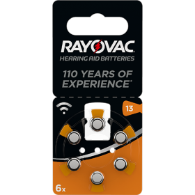 Батерии за слухов апарат 13 - Rayovac Acoustic