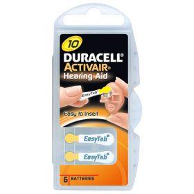 Батерии за слухов апарат 10 Duracell Activair 10