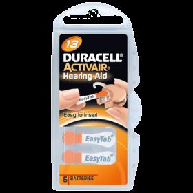 Батерии за слухов апарат 13 Duracell Activair 13