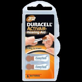 Батерии за слухов апарат Activ Air 312 - Duracell