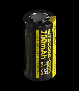 Литиево-йонна батерия 18350 Nitecore IMR18350 700 mAh 3.7V