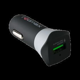 USB адаптер за кола 3A + Micro USB кабел Type C