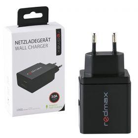 Зарядно за телефон от 220V към USB-A 1.5A