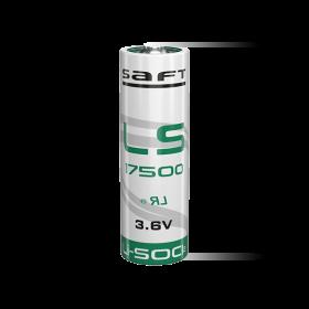 Батерия SAFT LS17500 3.6V 3600 mAh U-пластина