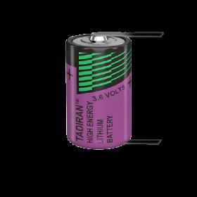 Батерия ER14250 Tadiran SL-750T 1/2AA 3.6V 1100 mAh - Li-SOCl2
