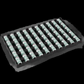 50 батерии 14250 Saft LS 14250 3.6V 1/2AA - 1200 mAh