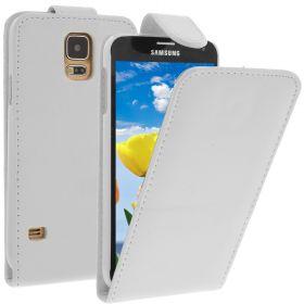 FLIP калъф за Samsung Galaxy S5 White